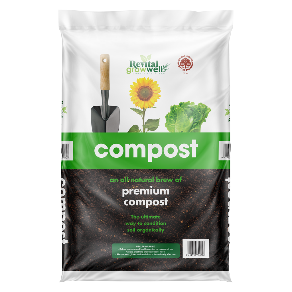 Revital Growwell are launching a new-look Compost bag this autumn – a sister bag to our popular Grow-all!