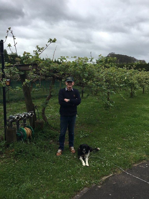 Whitehall Fruitpacker's owner Mark Gardiner shares his experience as an organic kiwifruit grower