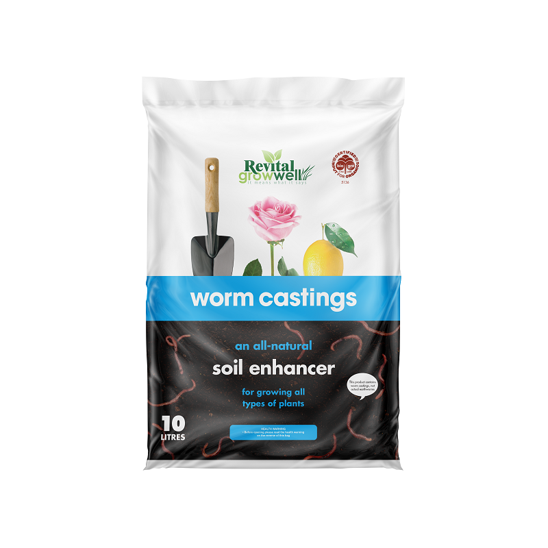 Revital Worm Castings bag